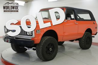 1972 GMC JIMMY V8 PS PB REMOVABLE TOP HUGGER ORANGE BLAZER | Denver, CO | Worldwide Vintage Autos in Denver CO