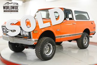 1972 GMC JIMMY REBUILT STRAIGHT BODY CHROME 4X4 CHROME AUTO  | Denver, CO | Worldwide Vintage Autos in Denver CO