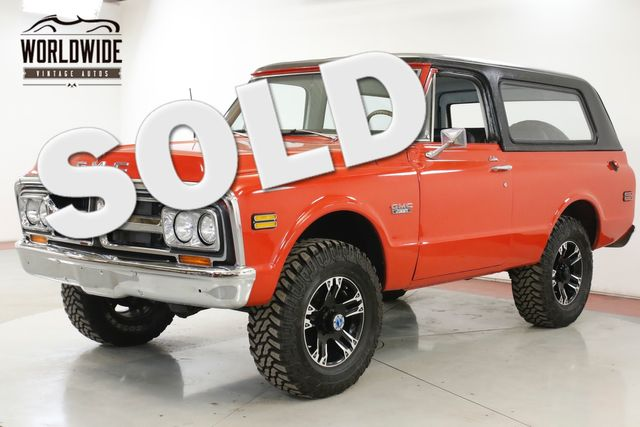 1972 GMC JIMMY FRAME OFF RESTORATION 4x4 200 MI AUTO  | Denver, CO | Worldwide Vintage Autos in Denver CO