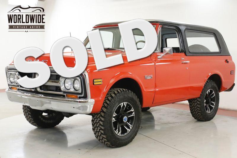 1972 GMC JIMMY FRAME OFF RESTORATION 4x4 200 MI AUTO    Denver, CO   Worldwide Vintage Autos