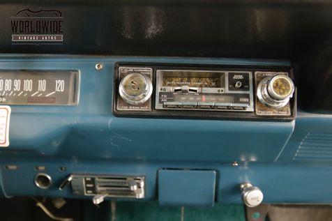 1972 International SCOUT REMOVABLE TOP 4X4 AUTO V8  | Denver, CO | Worldwide Vintage Autos in Denver, CO