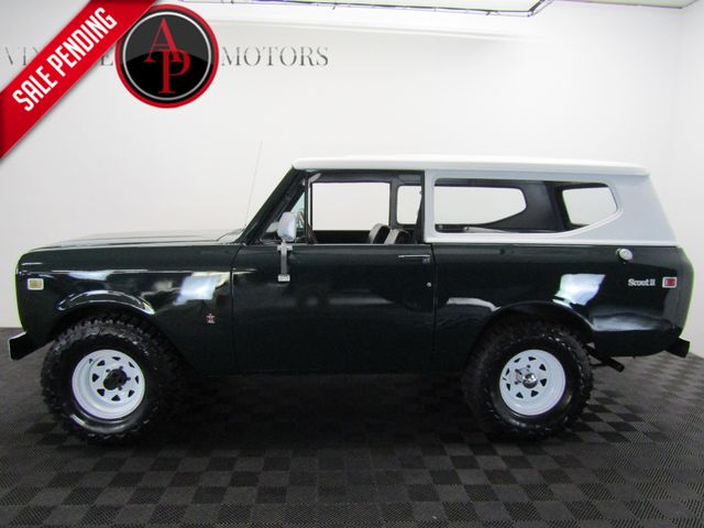 1972 International Scout II V8 HARD TOP 4X4 in Statesville, NC 28677