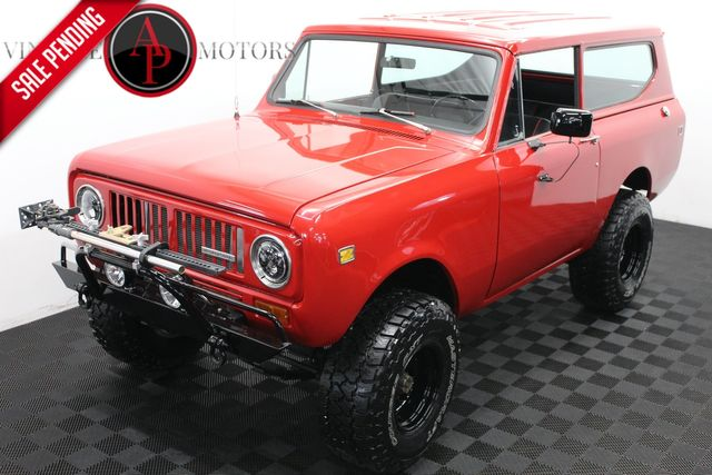 1973 International Scout RESTORED V8 4X4
