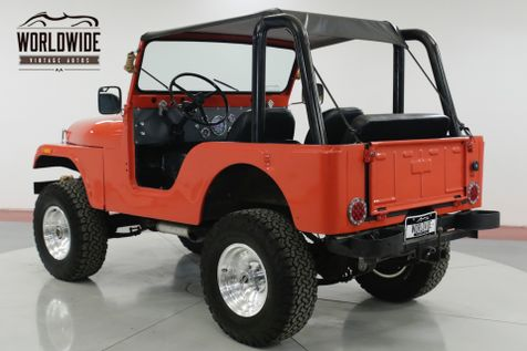 1972 Jeep CJ5  HIGH DOLLAR BUILD 4x4 CONVERTIBLE MUST SEE | Denver, CO | Worldwide Vintage Autos in Denver, CO