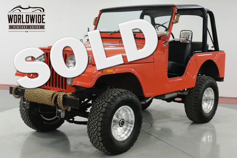 1972 Jeep CJ5  HIGH DOLLAR BUILD 4x4 CONVERTIBLE MUST SEE | Denver, CO | Worldwide Vintage Autos