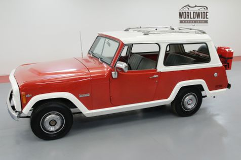 1972 Jeep COMMANDO V8 4X4 REMOVABLE TOP LUGGAGE RACK!  | Denver, CO | Worldwide Vintage Autos in Denver, CO