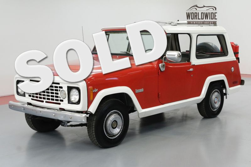 1972 Jeep COMMANDO V8 4X4 REMOVABLE TOP LUGGAGE RACK!  | Denver, CO | Worldwide Vintage Autos