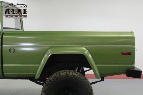 1972 Jeep J20 GLADIATOR V8 LEATHER PS PB RARE 4x4    Denver, CO   Worldwide Vintage Autos in Denver, CO