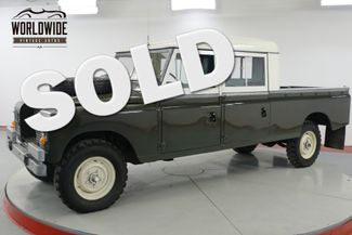 1972 Land Rover SERIES in Denver CO