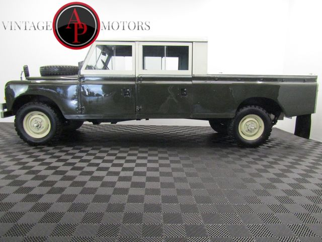 1972 Land Rover SERIES 4 DOOR 5 SP CUMMINS