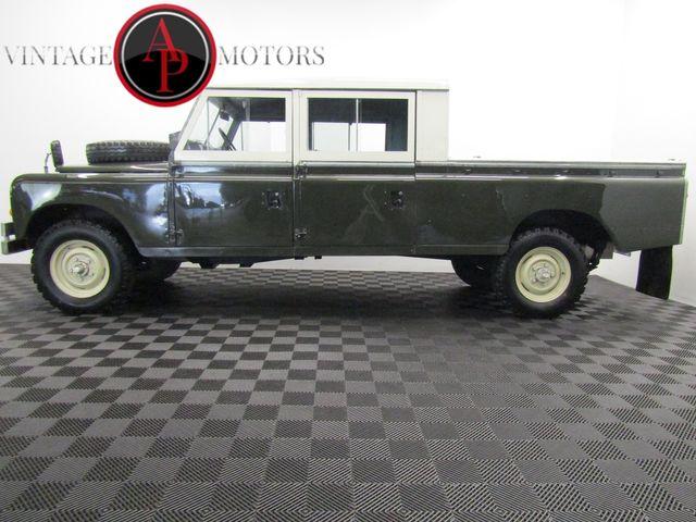 1972 Land Rover SERIES 4 DOOR 5 SP CUMMINS