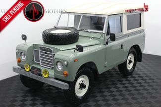 1972 Land Rover Series III 88 RARE OVERDRIVE 90K MILES in Statesville, NC 28677