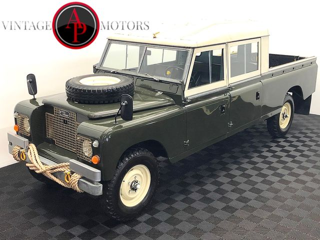 1972 Land Rover SERIES III 4 DOOR 5 SP CUMMINS