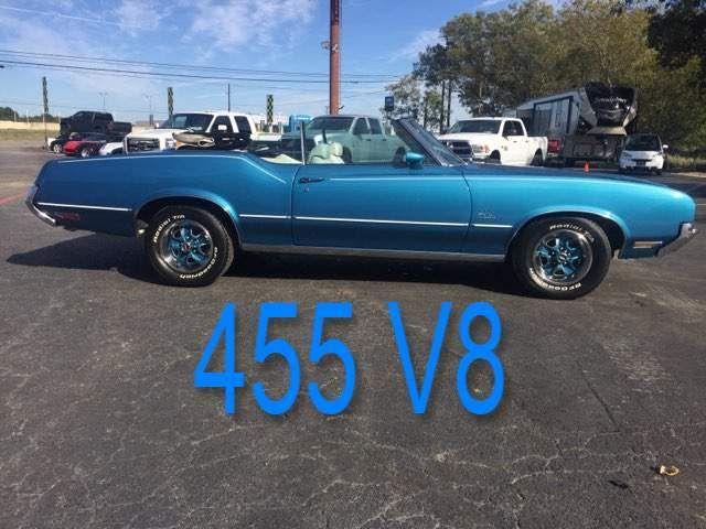 1972 Oldsmobile Custlass Supreme 455 V8