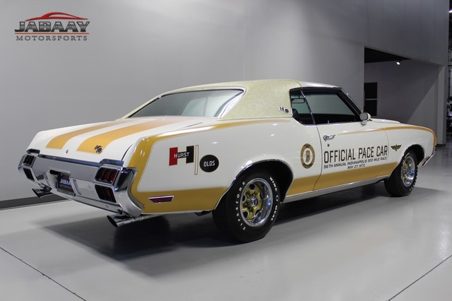 1972 Oldsmobile Cutlass 442 Pace Car Merrillville, Indiana 4