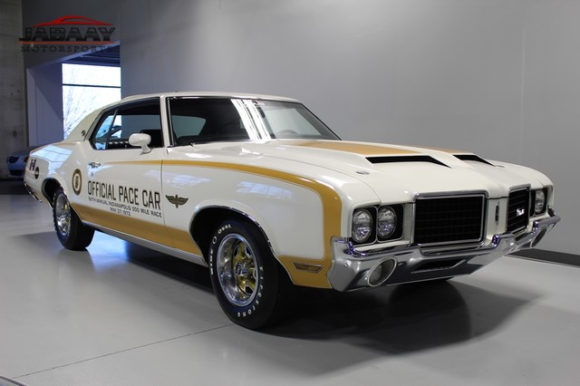 1972 Oldsmobile Cutlass 442 Pace Car Merrillville, Indiana 6