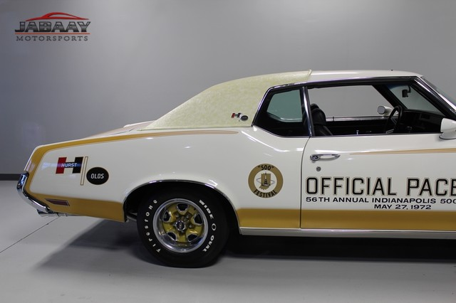 1972 Oldsmobile Cutlass 442 Pace Car Merrillville, Indiana 55
