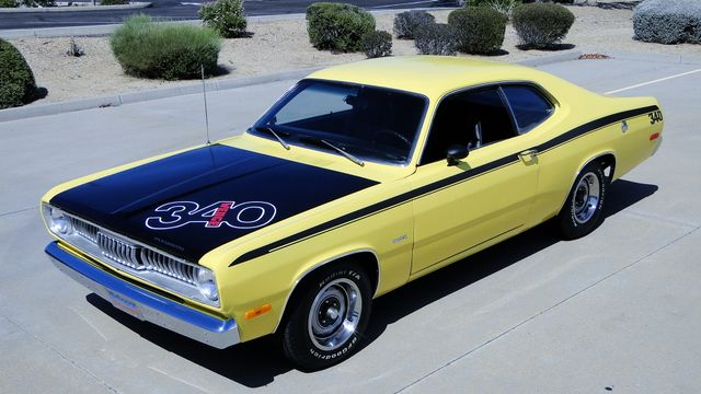1972 Plymouth DUSTER 4 SPEED,340cu Phoenix, Arizona 17