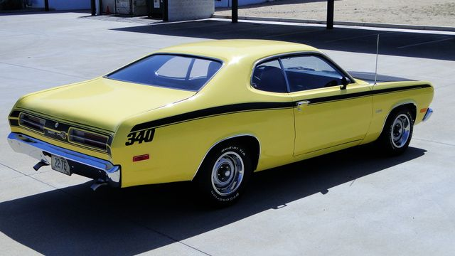 1972 Plymouth DUSTER 4 SPEED,340cu Phoenix, Arizona 2