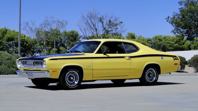 1972 Plymouth DUSTER 4 SPEED,340cu Phoenix, Arizona 8