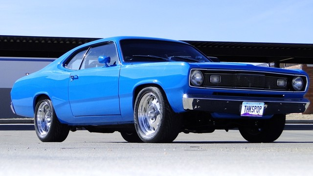 1972 Plymouth HEMI DUSTER RESTO-MOD Phoenix, Arizona 15