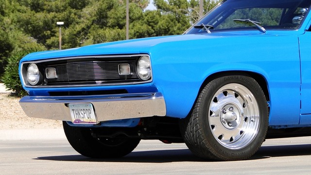 1972 Plymouth HEMI DUSTER RESTO-MOD Phoenix, Arizona 12