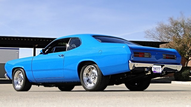 1972 Plymouth HEMI DUSTER RESTO-MOD Phoenix, Arizona 2