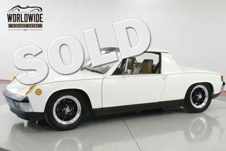 1972 Porsche 914 1.7L FUEL INJECTED 5-SPEED UNMOLESTED | Denver, CO | Worldwide Vintage Autos in Denver CO