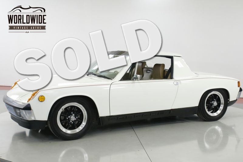 1972 Porsche 914 1.7L FUEL INJECTED 5-SPEED UNMOLESTED | Denver, CO | Worldwide Vintage Autos