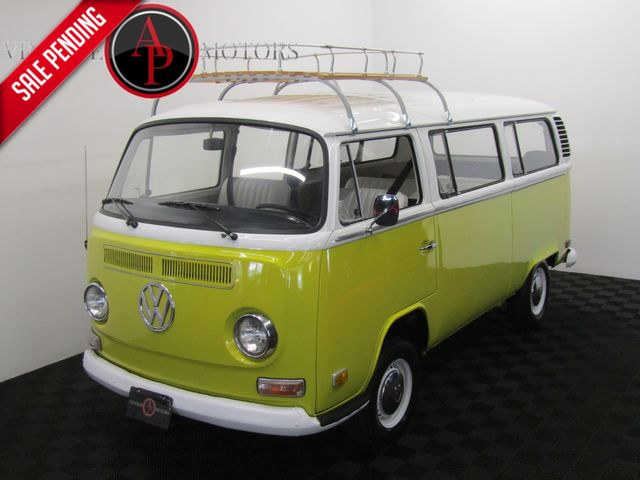 1972 Volkswagen BUS TIN TOP WITH RARE PANORAMIC SUN-ROOF