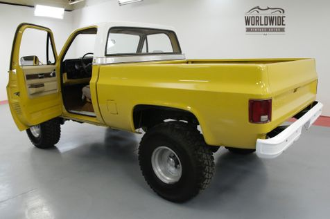 1973 Chevrolet C10 CUSTOM DELUXE 454 V8 AUTO 4X4. MUST SEE | Denver, CO | Worldwide Vintage Autos in Denver, CO