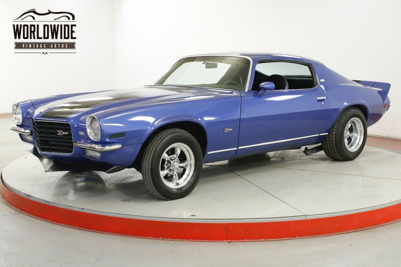 1973 Chevrolet CAMARO Z28 LT PACKAGE NUMBERS MATCHING 350 V8  | Denver, CO | Worldwide Vintage Autos