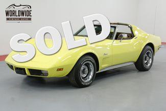 1973 Chevrolet CORVETTE L82 350 4 SPEED T-TOP | Denver, CO | Worldwide Vintage Autos in Denver CO
