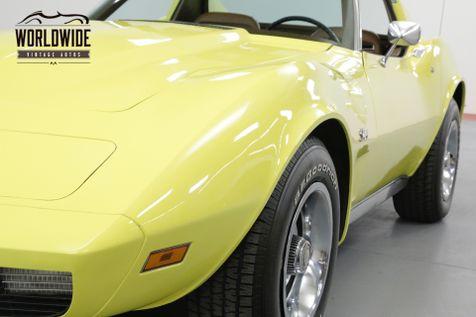 1973 Chevrolet CORVETTE L82 350 4 SPEED T-TOP | Denver, CO | Worldwide Vintage Autos in Denver, CO