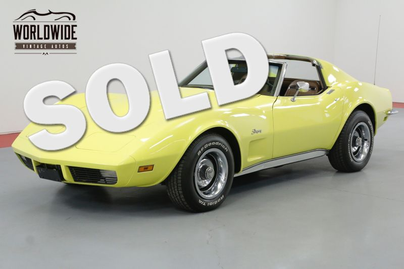 1973 Chevrolet CORVETTE L82 350 4 SPEED T-TOP | Denver, CO | Worldwide Vintage Autos