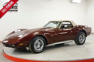 1973 Chevrolet CORVETTE 4-WHEEL DISC PS 350 V8 AUTO CONVERTIBLE | Denver, CO | Worldwide Vintage Autos in Denver CO