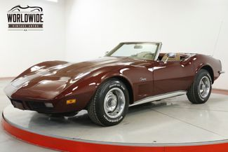 1973 Chevrolet CORVETTE 4-WHEEL DISC PS 350 V8 AUTO CONVERTIBLE | Denver, CO | Worldwide Vintage Autos in Denver CO