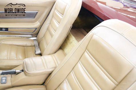 1973 Chevrolet CORVETTE 4-WHEEL DISC PS 350 V8 AUTO CONVERTIBLE | Denver, CO | Worldwide Vintage Autos in Denver, CO