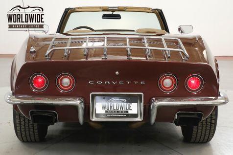 1973 Chevrolet CORVETTE 4-WHEEL DISC PS 350 V8 AUTO CONVERTIBLE   Denver, CO   Worldwide Vintage Autos in Denver, CO