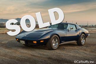 1973 Chevy Corvette    Concord, CA   Carbuffs in Concord