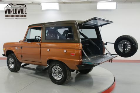 1973 Ford BRONCO UNCUT 302 V8 4X4  | Denver, CO | Worldwide Vintage Autos in Denver, CO