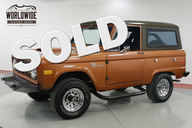 1973 Ford BRONCO UNCUT 302 V8 4X4  | Denver, CO | Worldwide Vintage Autos