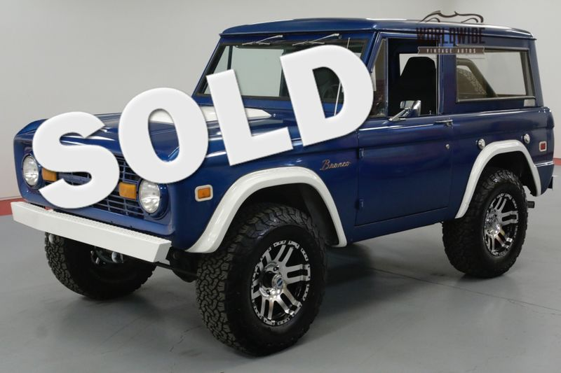 1973 Ford BRONCO RESTORED 302 V8 CUSTOM WHEELS 4x4 AUTO PS PB  | Denver, CO | Worldwide Vintage Autos