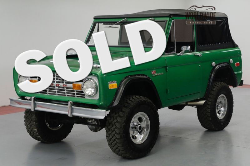 1973 Ford BRONCO SPORT. RESTORED. 302 V8! 4 SPEED! PS. 4x4. | Denver, CO | Worldwide Vintage Autos