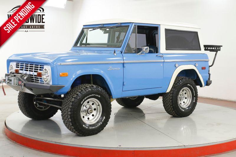 1973 Ford BRONCO BUILT CA TRUCK ORIGINAL PAINT LIFT WINCH   | Denver, CO | Worldwide Vintage Autos