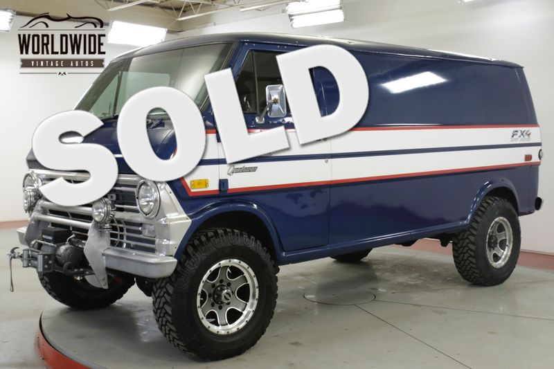 1973 Ford ECONOLINE PATHFINDER 4x4 CONVERSION! RARE COLLECTOR! (VIP) | Denver, CO | Worldwide Vintage Autos