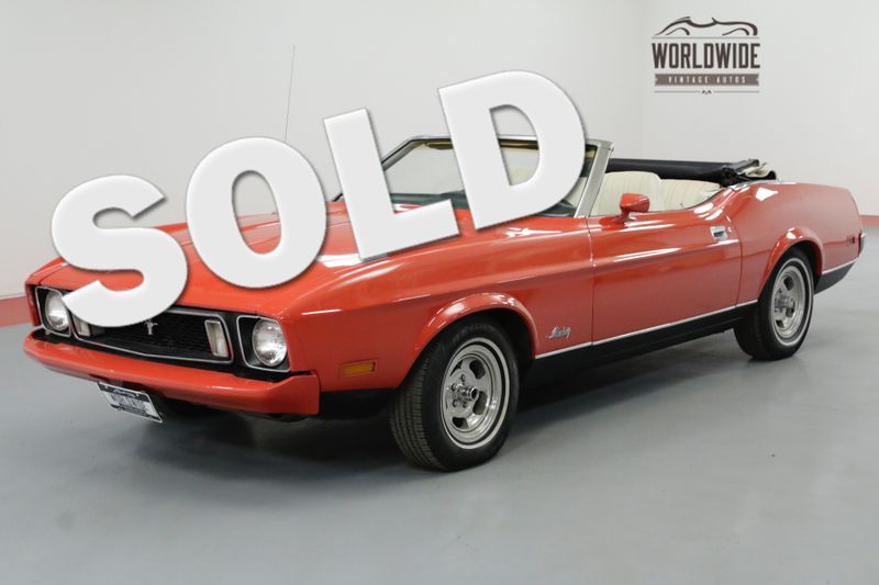 1973 Ford MUSTANG CONVERTIBLE 351 CLEVELAND AUTOMATIC MUST SEE | Denver, CO | Worldwide Vintage Autos