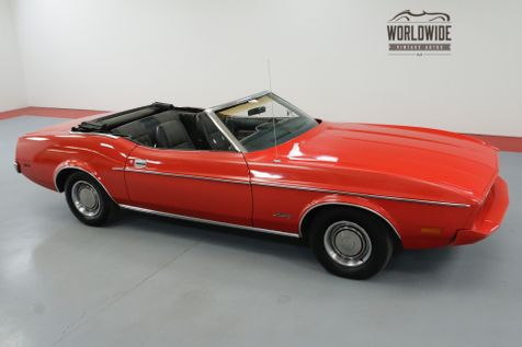 1973 Ford MUSTANG RARE CONVERTIBLE 351 V8 NEW PAINT MUST SEE   Denver, CO   Worldwide Vintage Autos in Denver, CO