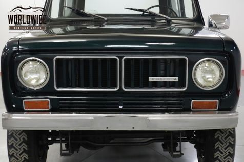 1973 International SCOUT II REMOVABLE TOP V8 PS PB 4x4! STEEL WHEELS  | Denver, CO | Worldwide Vintage Autos in Denver, CO