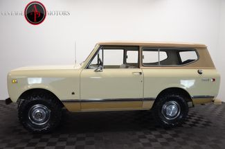 1973 International SCOUT II ONE OWNER BUILD SHEET 78K in Statesville, NC 28677
